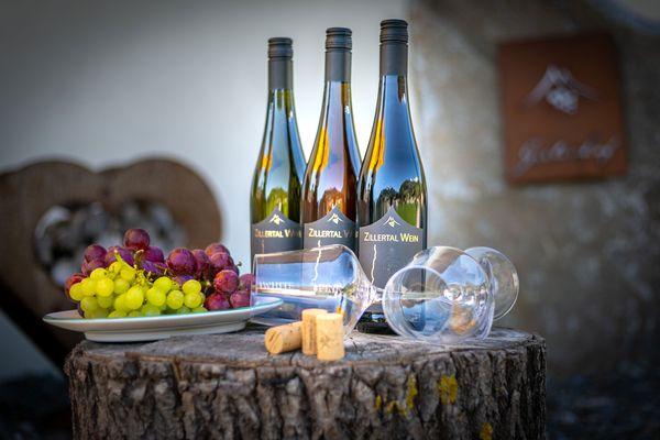 Obstteller und Zillertal Wein